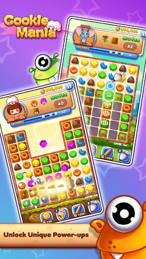 Cookie Mania - Match-3 Sweet Game 2.2.2 3