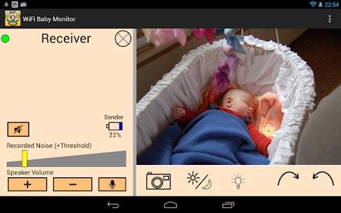 WiFi Baby Monitor - screenshot thumbnail