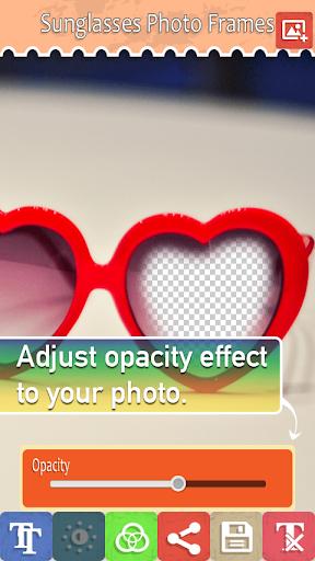 無料摄影Appのサングラスフォトフレーム 記事Game
