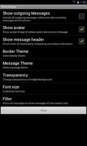 Whats-Widget Unlocker  screenshots 4