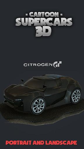 Toon Cars Citroen GT 3D lwp