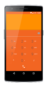 Elegance Orange CM12 Theme v2.1