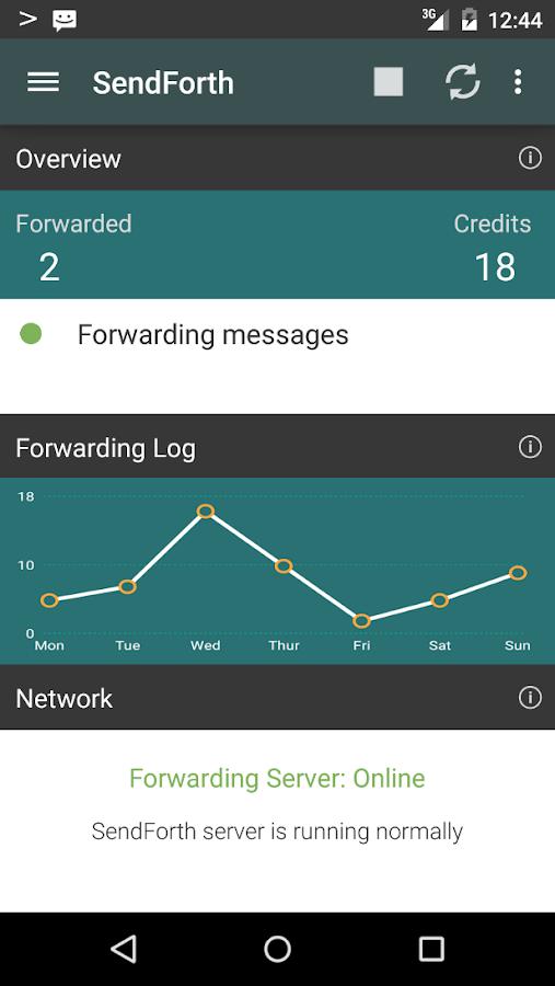 SendForth - screenshot