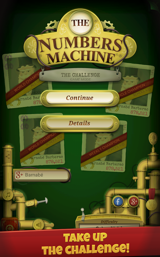 The Numbers Machine- screenshot