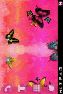 GO Launcher EX Theme Pink Cute- screenshot thumbnail