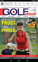 Screenshot of GOLFaktuell