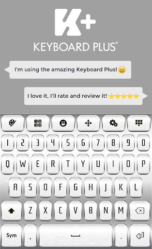 金属のキーボード