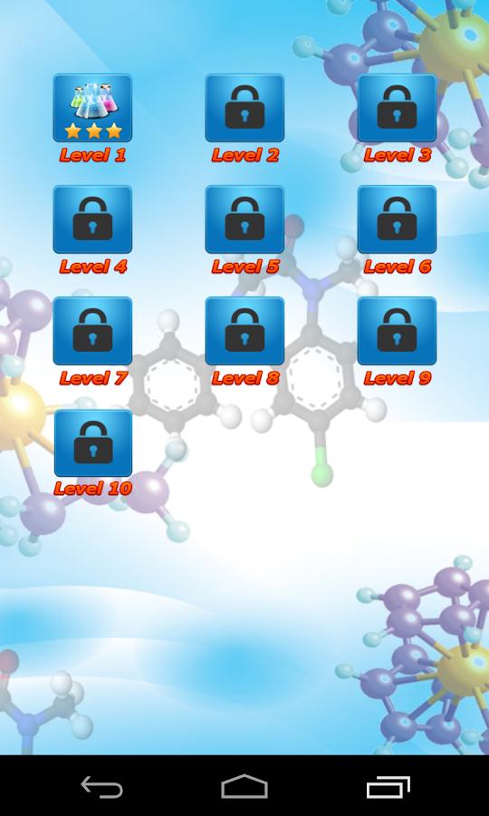 Quiz Χημείας - screenshot