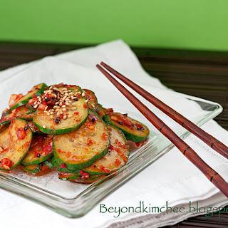 Spicy Cucumber Salad (Ooi muchim)