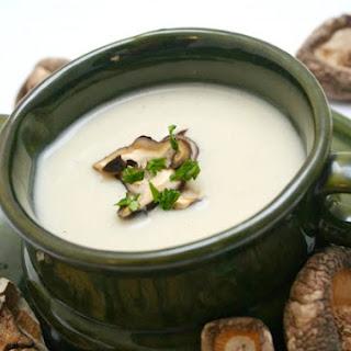 Creamy Shiitake Soup