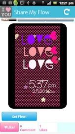 [Free]I Love Flow! Live Wall Screenshot 6