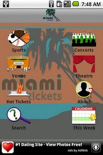 Miami Tickets - screenshot thumbnail
