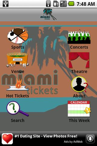 Miami Tickets - screenshot