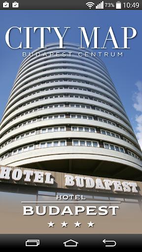 CityMap Hotel Budapest