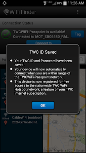TWC WiFi Finder - screenshot thumbnail
