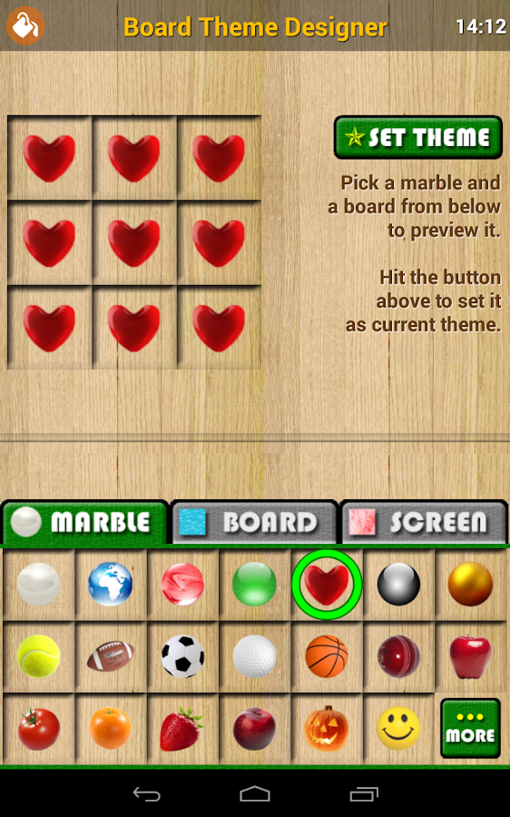 iMARBLE Pro: Marble Solitaire- screenshot