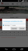Screenshot of Calendario Laboral Espana 2015