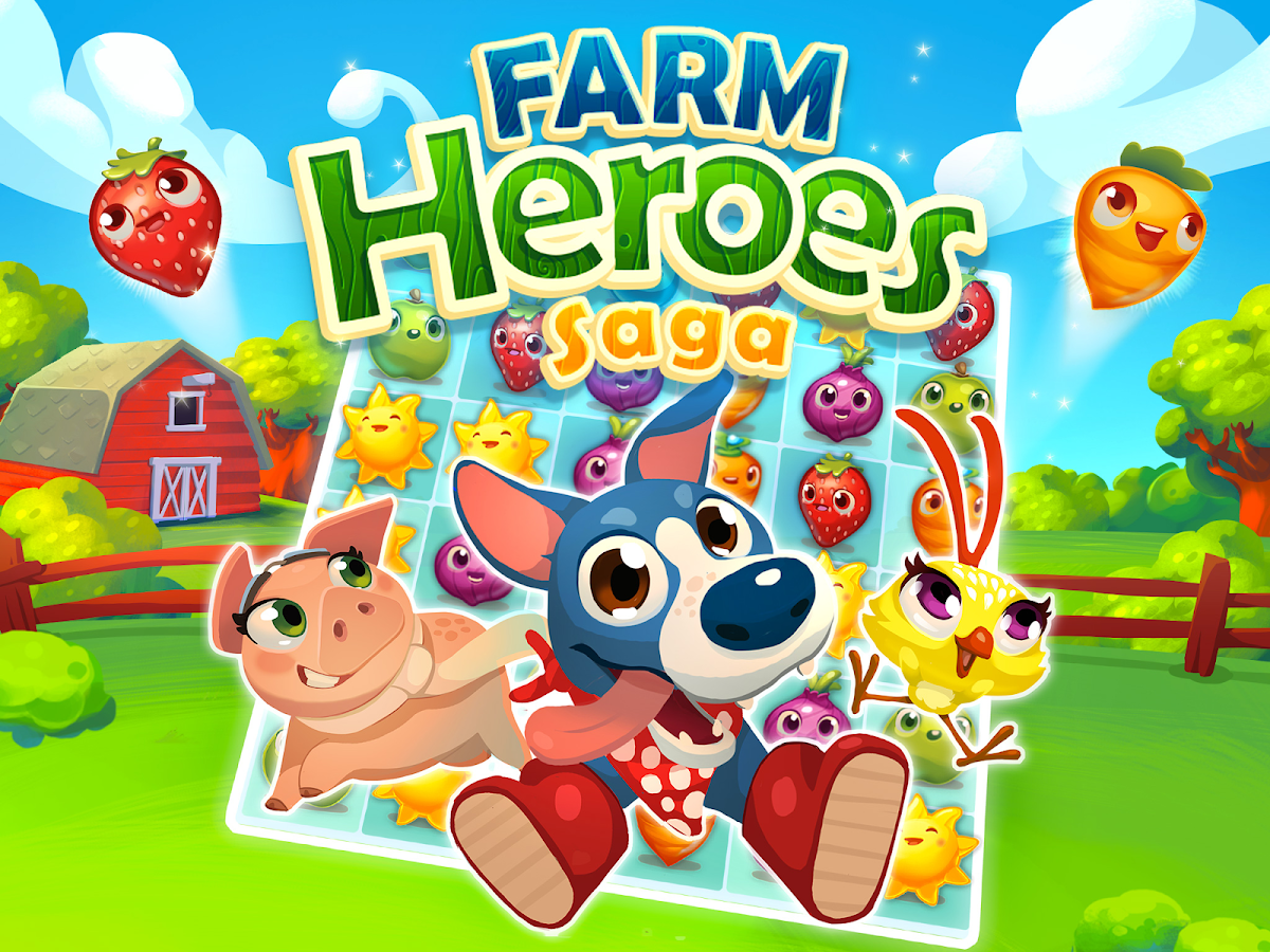 Farm Heroes Saga - screenshot