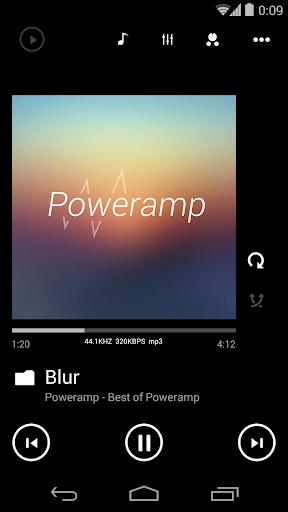 Skin for Poweramp Metro UI  screenshots 1