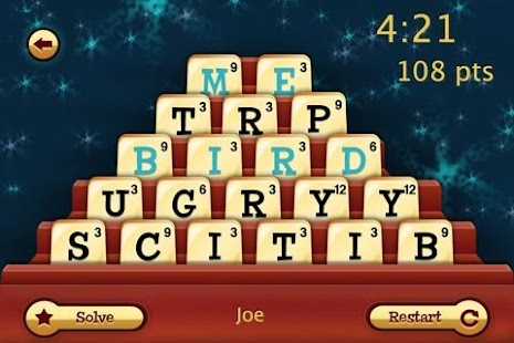 Dabble Fast Thinking Word Game- screenshot thumbnail