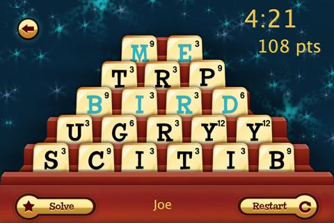 Dabble Fast Thinking Word Game- screenshot