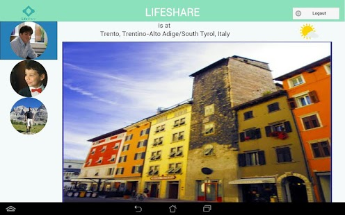 Lifeshare Tablet- screenshot thumbnail