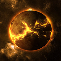 Dark Planet Video Wallpaper 3D icon