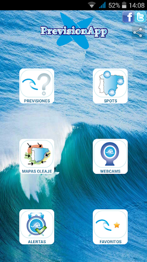 PrevisionApp | Surf y olas  screenshots 1