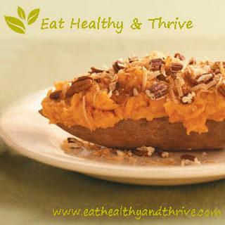 Twice Baked Vegan Sweet Potatoes