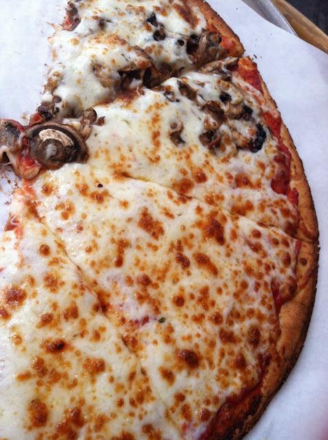 Wonderful pizza!!! So good! Gf
