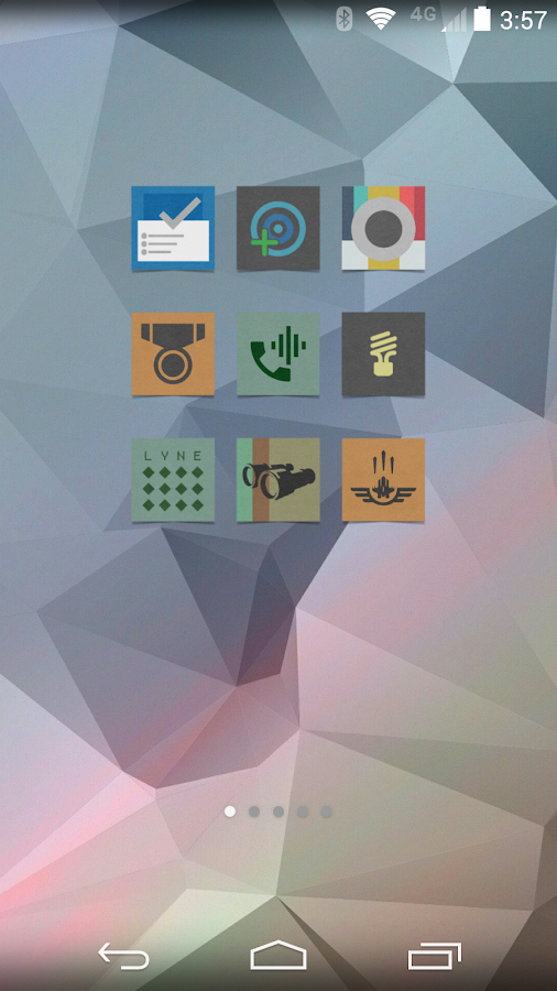 Cardstock Icon Pack - screenshot