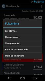 TimeZone Pro - screenshot thumbnail