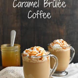 Caramel Brûlée Coffee