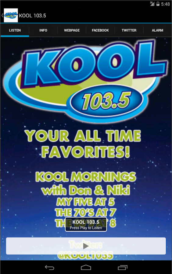 KOOL 103.5- screenshot