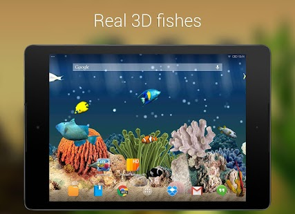 Aquarium 3D Live Wallpaper - screenshot thumbnail