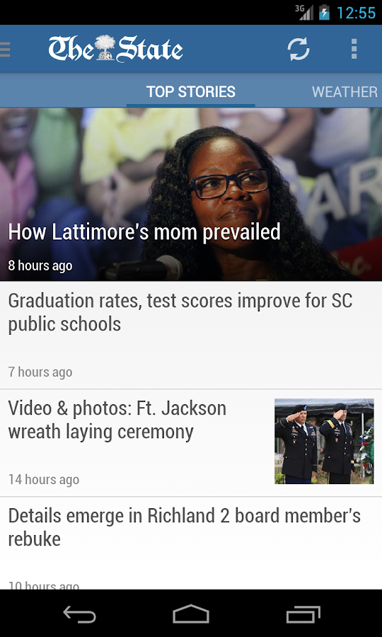 The State News: Columbia, SC - screenshot