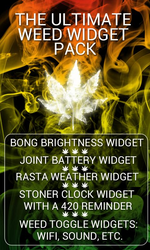 Weed Widget Pack - screenshot