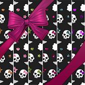 WALLPAPER SET - Punk Skulls 2