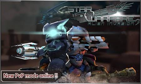 Star Warfare:Alien Invasion Screenshot 1