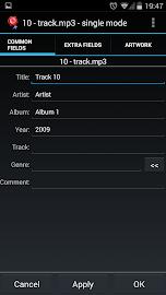 AudioTagger Pro - Tag Music Screenshot 2