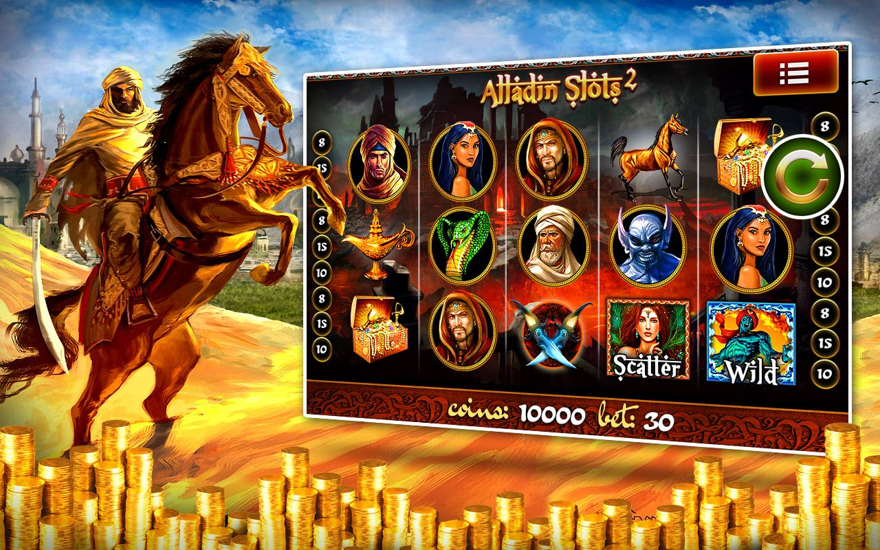 aladdin slot machine free