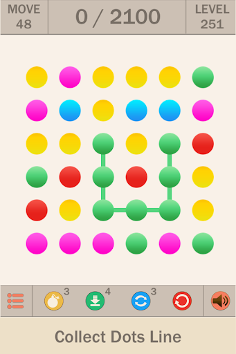 Collect Dots Line: Connect Dot