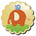Baby Learning Card – Animal logo