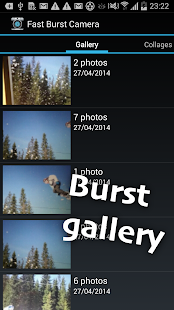 Fast Burst Camera- screenshot thumbnail