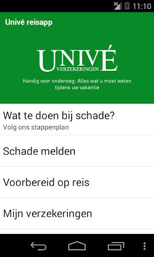 Univé ReisApp