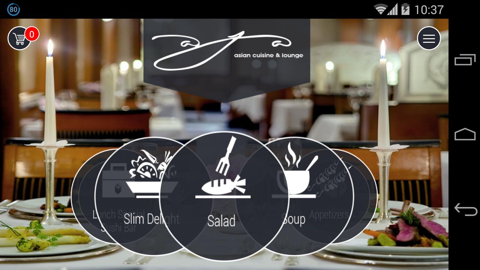 Aja asian cuisine android apps on google play for Aja asian cuisine lounge