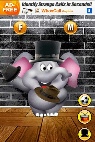 Talking Elephant Free - screenshot