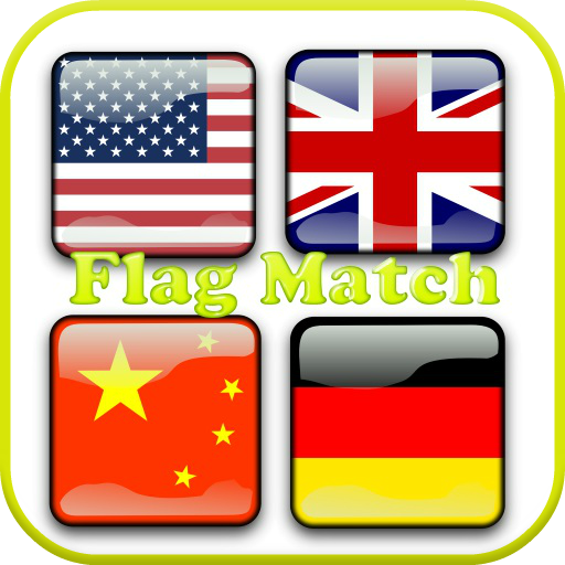 Free Flag Match Game 動作 App LOGO-APP試玩