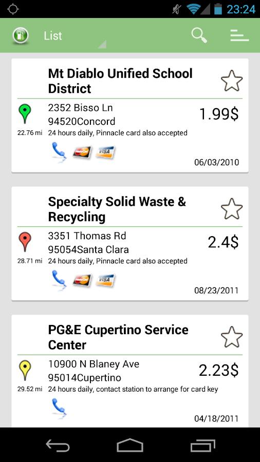 Alternative Fuel Locator USA - screenshot