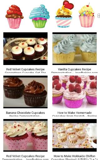 Cupcake Recipes HD Videos Free